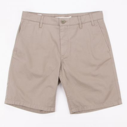 Norse Projects Aros Light Twill Shorts Washed Kelp