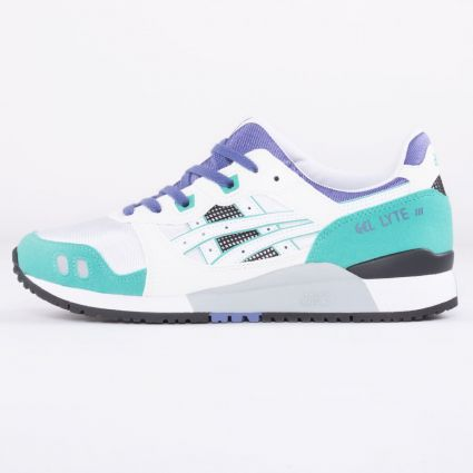 Asics Gel-Lyte III OG 'Emerald'  White/Teal Blue 1191A266-103-1