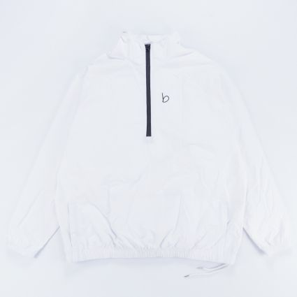 B4 Basics Crepe Windbreaker White