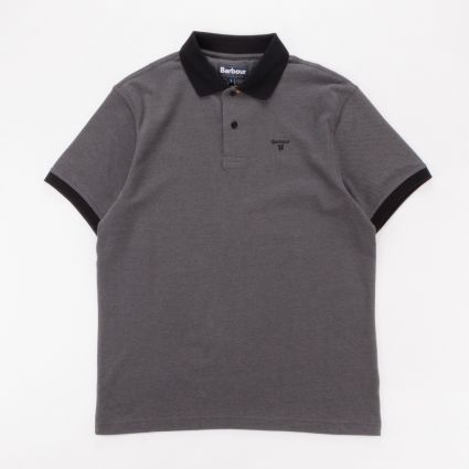 Babour Sports Polo Mix Shirt Black1