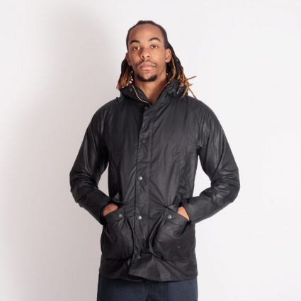 Barbour Bedale Hooded Jacket Navy