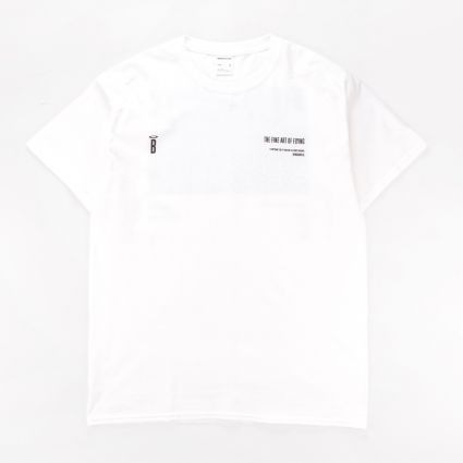 BeingHunted The Fine Art of Flying/Karl Hab T-Shirt White1