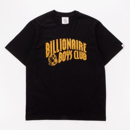 Billionaire Boys Club Arch Logo Glitter T-Shirt Black/Gold1