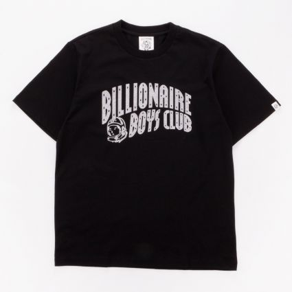 Billionaire Boys Club Arch Logo Glitter T-Shirt Black/Silver1