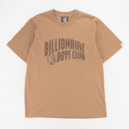 Billionaire Boys Club Arch Logo T-Shirt Brown1