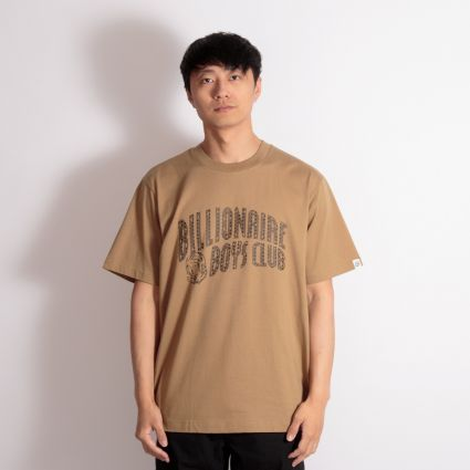 Billionaire Boys Club Arch Logo T-Shirt Brown