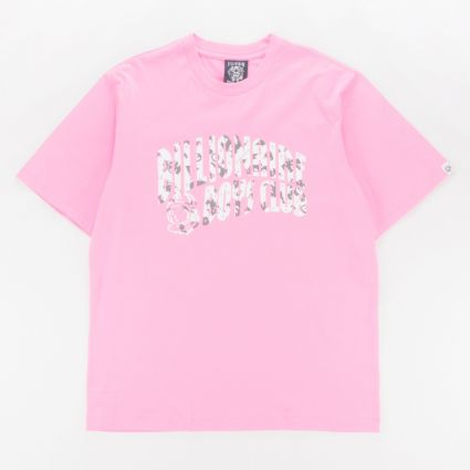 Billionaire Boys Club Arch Logo T-Shirt Pink1