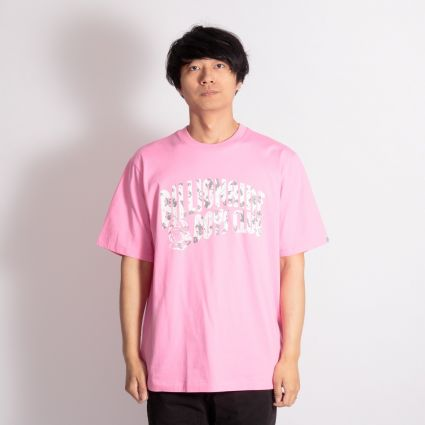 Billionaire Boys Club Arch Logo T-Shirt Pink