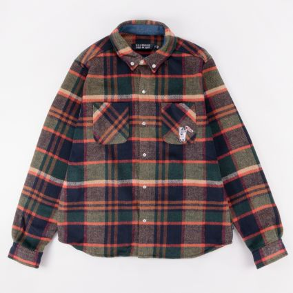 Billionaire Boys Club Check Shirt Green