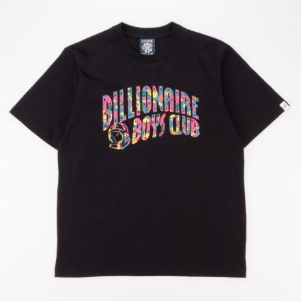 Billionaire Boys Club Confetti Arch Logo T-Shirt Black1