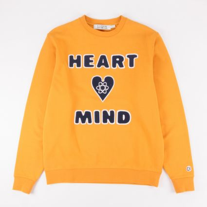 Billionaire Boys Club Heart & Mind Crewneck Sweatshirt Yellow
