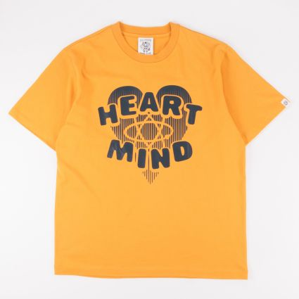 Billionaire Boys Club Heart & Mind Graphic T-Shirt Yellow