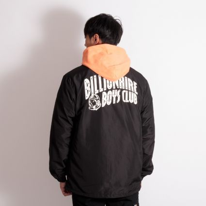 Billionaire Boys Club Helmet Coach Jacket Black