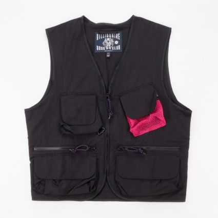 Billionaire Boys Club Lightweight Utility Vest Black1
