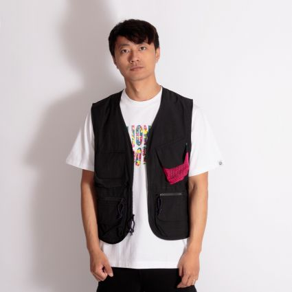 Billionaire Boys Club Lightweight Utility Vest Black