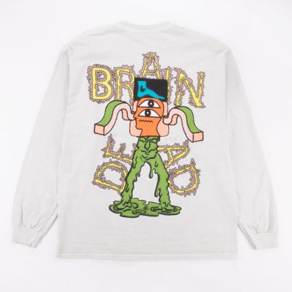 Brain Dead Gooey Long Sleeve T-Shirt Cement