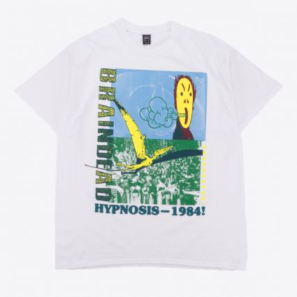 Brain Dead Hypnotize Short Sleeve Tee White1