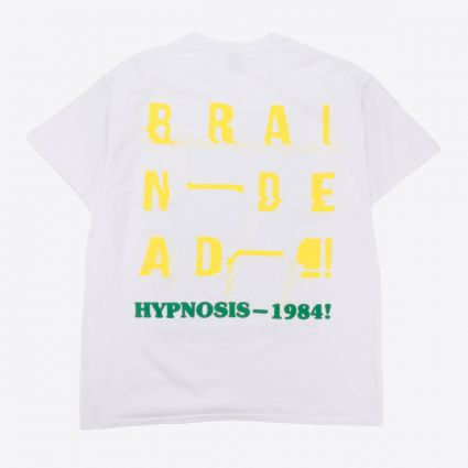 Brain Dead Hypnotize Short Sleeve T-Shirt White