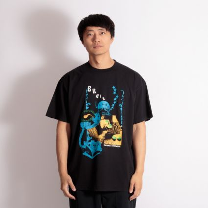 Brain Dead Psychedelic Synthesis Short Sleeve T-Shirt Black