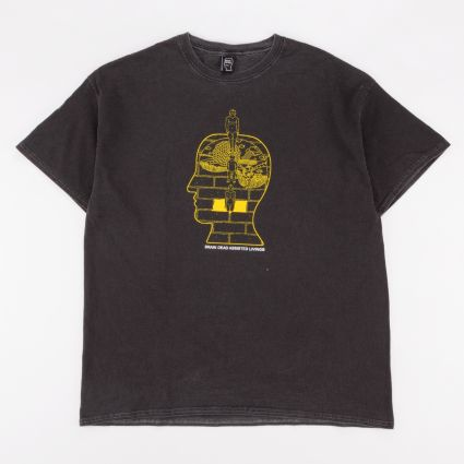 Brain Dead Syd Short Sleeve T-Shirt Washed Black