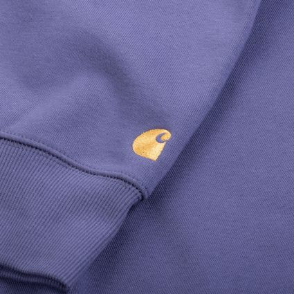 Carhartt WIP Chase Sweatshirt Cold Viola/Gold