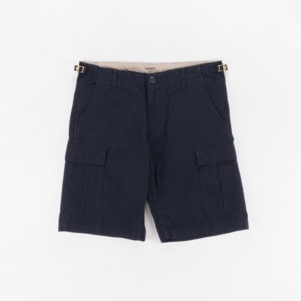 Carhartt WIP Aviation Short Dark Navy1