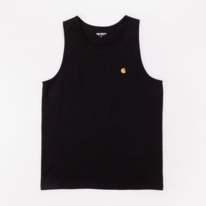 Carhartt WIP Chase A-Shirt Black/Gold