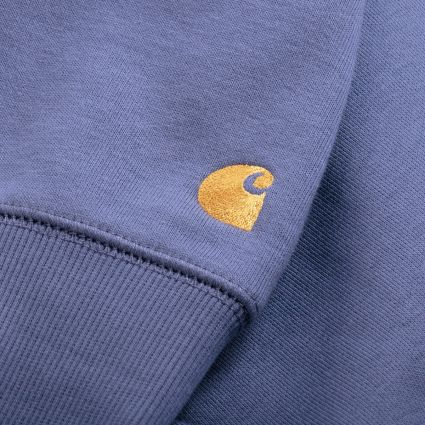 Carhartt WIP Chase Hoodie Cold Viola/Gold