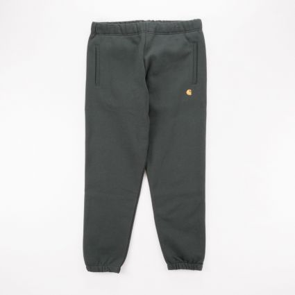 Carhartt WIP Chase Sweat Pant Dark Teal/Gold1
