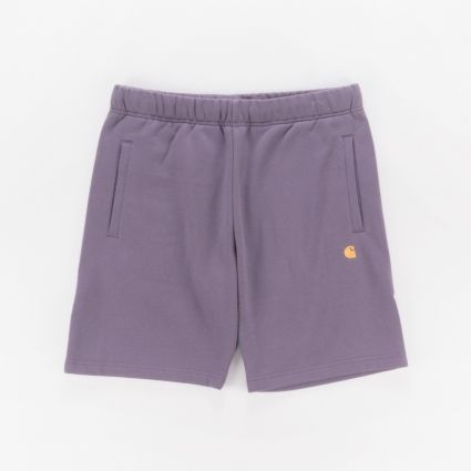 Carhartt WIP Chase Sweat Short Provence/Gold1