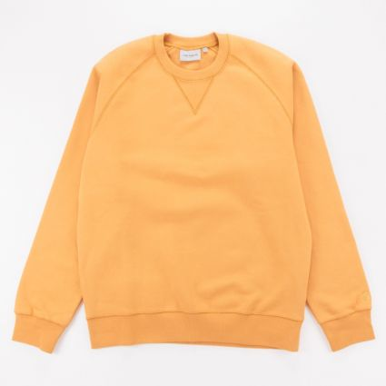 Carhartt WIP Chase Sweatshirt Winter Sun/Gold1