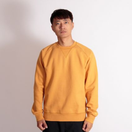 Carhartt WIP Chase Sweatshirt Winter Sun/Gold