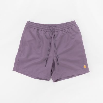 Carhartt WIP Chase Swim Trunks Provence/Gold1