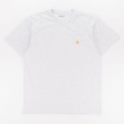 Carhartt WIP Chase T-Shirt Ash Heather/Gold1