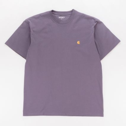 Carhartt WIP Chase T-Shirt Provence/Gold1