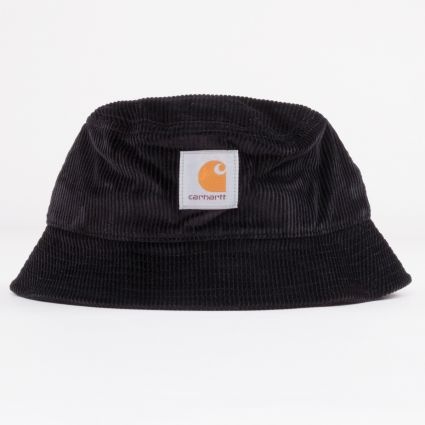 Carhartt WIP Cord Bucket Hat Black1