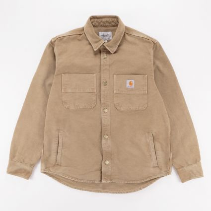 Carhartt WIP Glenn Shirt Jacket Hamilton Brown1