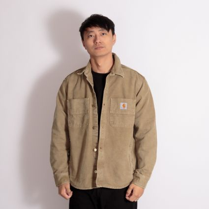Carhartt WIP Glenn Shirt Jacket Hamilton Brown