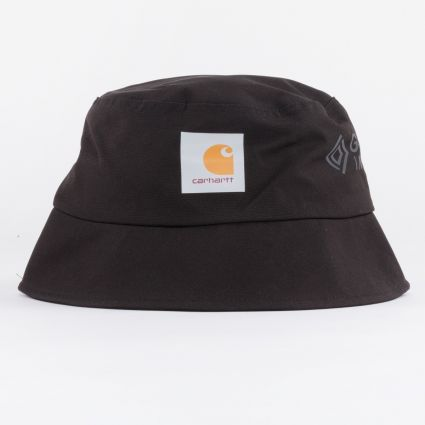 Carhartt WIP Gore Tex Line Bucket Hat Black1