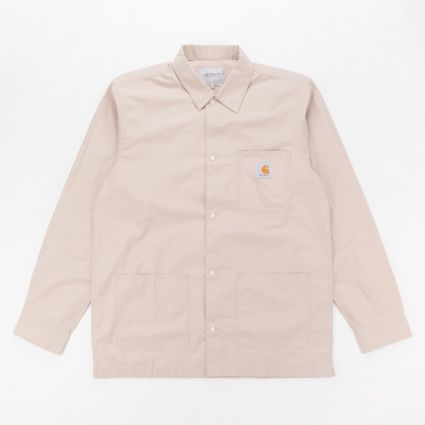 Carhartt WIP Long Sleeve Creek Shirt Wall1