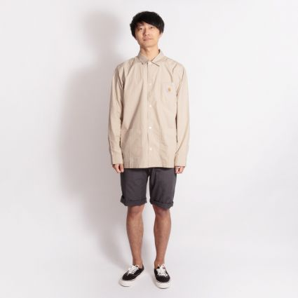 Carhartt WIP Long Sleeve Creek Shirt Wall
