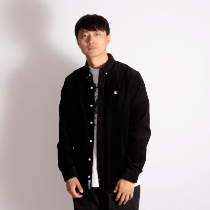 Carhartt WIP Madison Cord Shirt Black/Wax