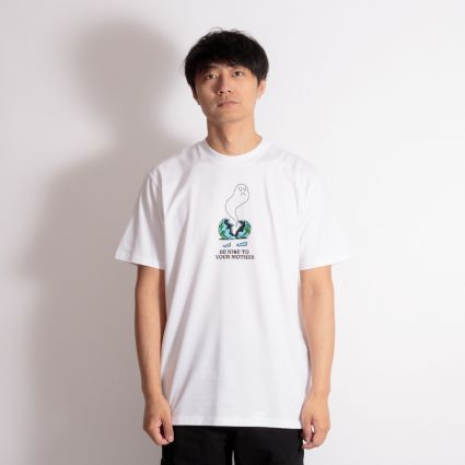 Carhartt WIP Nice To Mother T-Shirt White