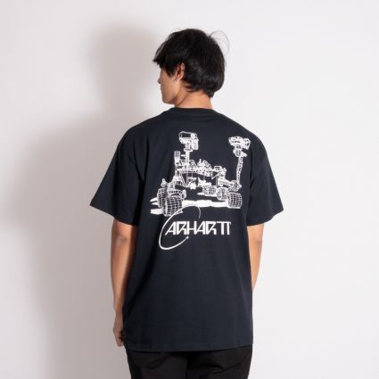 Carhartt WIP Orbit T-Shirt Dark Navy/White