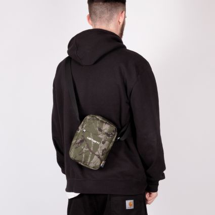 Carhartt WIP Payton Shoulder Pouch Camo Tree Green/White