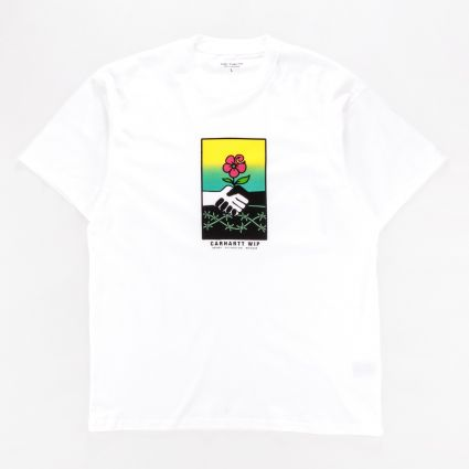 Carhartt WIP Short Sleeve Together T-Shirt White1