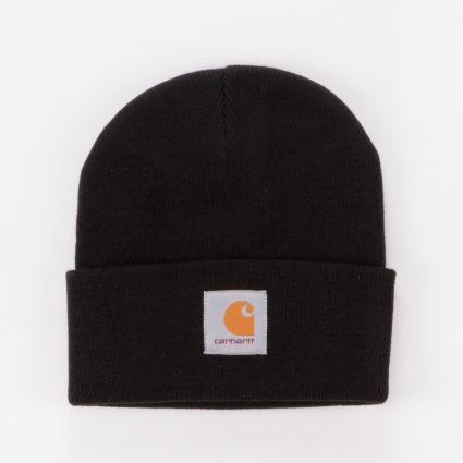 Carhartt WIP Short Watch Beanie Black1