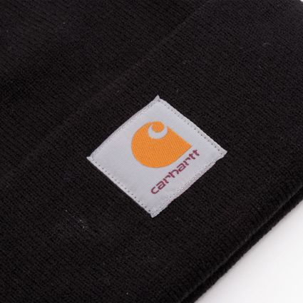 Carhartt WIP Short Watch Beanie Black