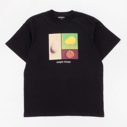 Carhartt WIP Simple Things T-Shirt Black1