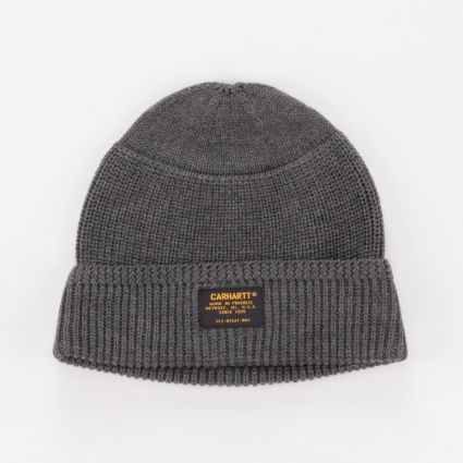 Carhartt WIP Truman Beanie Dark Grey Heather1